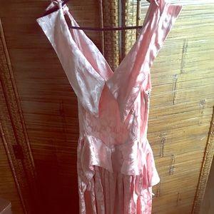 Vintage cotillion dress 1940-50s